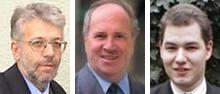 Dr. Werner Putz, Dr. Kurt Markaritzer, Emanuel Lampert