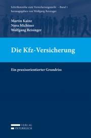 Buch-Cover Kfz-Versicherung (Quelle: Verlag Österreich)