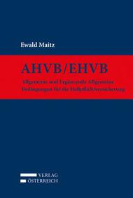 Neu im Verlag Österreich: AHVB/EHVB von Ewald Maitz (Cover: Verlag Österreich)