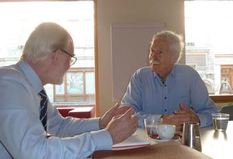 Im Gespräch mit Otto Lucius (Bild: Yield)