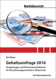 Gehaltsumfrage 2016
