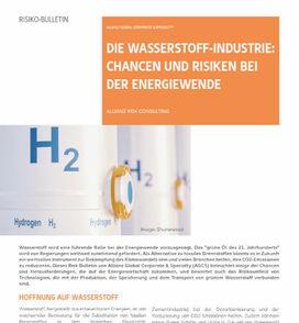 AGCS-Analyse zu Wasserstoff (Cover; Quelle: AGCS)