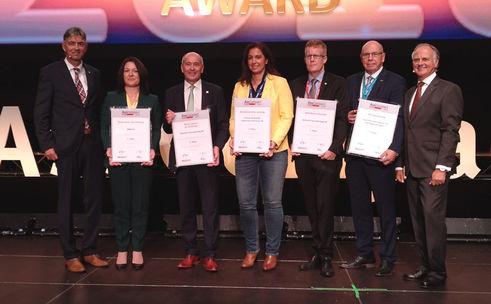 Die Sieger der Asscompact Awards 2018 (Bild: Lampert)