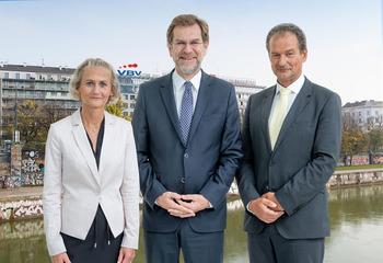 Der neue Vorstand der VBV-Vorsorgekasse (Bild: VBV/Tanzer)