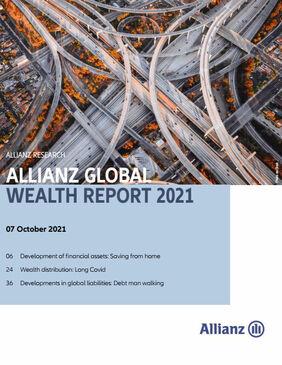 Allianz Global Wealth Report 2021 (Cover; Quelle: Allianz)