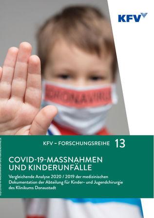 Analyse des KFV und des Wiener SMZ Ost zu Behandlungen von Kinderunfällen im Lockdown (Cover; Quelle: KFV)
