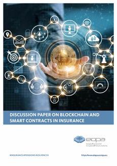 Eiopa-Diskussionspapier zu Blockchain und smarten Verträgen (Cover; Quelle: Eiopa)