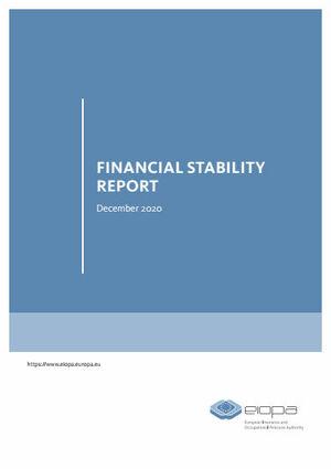 Der aktuelle Finanzstabilitätsbericht der Eiopa (Cover; Quelle: Eiopa)