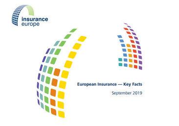 Bericht zu den Schlüsselkennzahlen der europäischen Versicherungswirtschaft (Cover; Quelle: Insurance Europe)