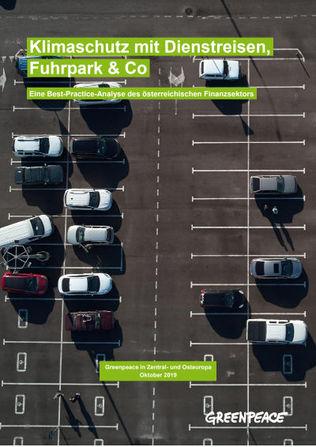 Greenpeace-Bericht zu Klimaschutz-Maßnahmen in der Finanzbranche (Quelle: Greenpeace)