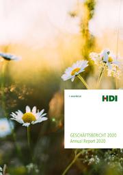 Geschäftsbericht 2020 der HDI Versicherung AG (Cover: HDI)