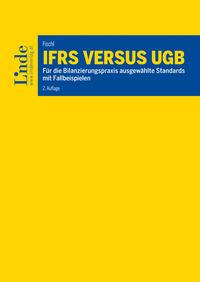 Neu im Linde-Verlag: IFRS versus UGB (Cover: Linde)