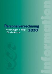 Neu bei dbv: Personalverrechnung 2020 (Cover: dbv)