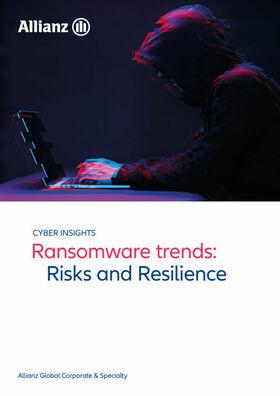 Neuer Allianz/AGCS-Bericht zu Ransomware (Cover; Quelle: AGCS)