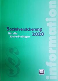 Neu bei dbv: Sozialversicherung 2020 für alle Erwerbstätigen (Cover: dbv)