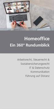 Umfassender Ratgeber zum Thema Home-Office (Cover: dbv)
