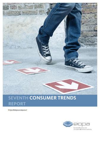 Siebter Consumer Trends Report der Eiopa (Titelblatt, Quelle: Eiopa)