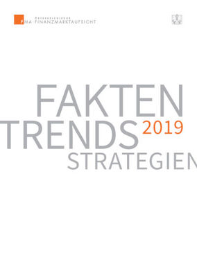 FMA-Bericht Fakten, Trend, Strategien 2019 (Cover; Quelle: FMA)