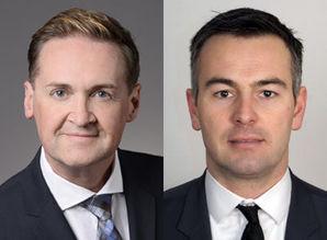Karl Grandl (li.) und Milan Veskovic übernehmen am 1. Februar die Geschäftsführung bei Wefox Österreich (Quelle: Wefox)