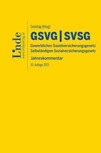 Neu bei Linde: GSVG/SVSG in der zehnten Auflage (Cover: Linde Verlag)