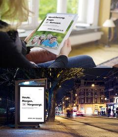 Der neue Markenauftritt der Helvetia (Bilder: Helvetia)