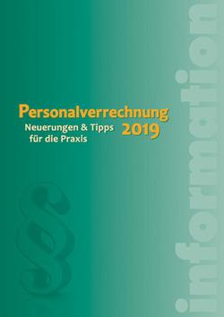 Neu im dbv-Verlag: Personalverrechnung 2019
