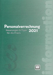 Neu bei dbv: Personalverrechnung 2021 (Cover: dbv)