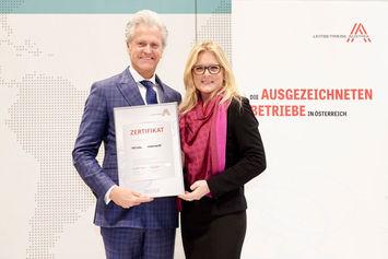Michael Miskarik, Monica Rintersbacher (Foto: HDI Leben)