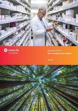 Die neue Sonar-Analyse des Swiss Re Institute (Cover; Quelle: Swiss Re)