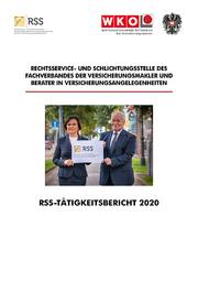 Tätigkeitsbericht 2020 der Rechtsservice- und Schlichtungsstelle der Versicherungsmakler