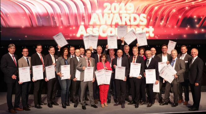 Die Gewinner der Asscompact-Awards 2019 (Bild: Asscompact)