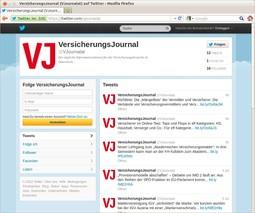 VersicherungsJournal twittert