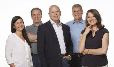 Christa Rathberger, Roland Rathberger, Arno Slepice, Josef Hausleithner und Anita Hausleithner (Foto:Varias/Rathberger)