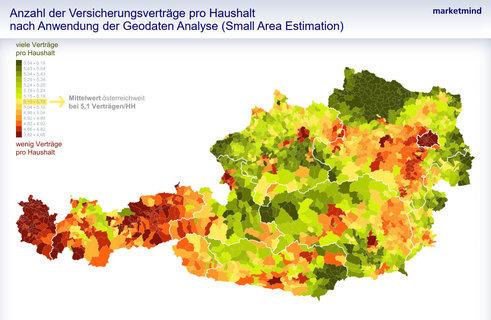 Versicherungsveträge pro Haushalt (Quelle: Marketmind/Telemark Marketing)
