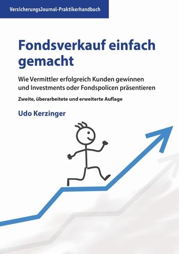 Die Neuauflage des Buchs von Udo Kerzinger, soeben erschienen im VersicherungsJournal Verlag