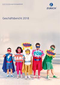 Cover Geschäftsbericht 2018 (Bild: Zürich)
